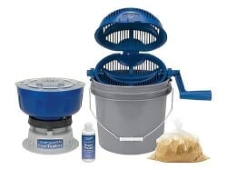 Frankford Arsenal Quick-N-EZ Case Tumbler Master Kit with Quick-N-EZ Rotary Media Separator 110 Volt